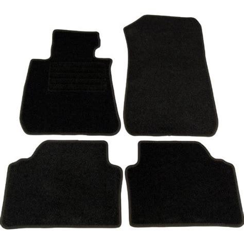 tapis de voiture bmw serie 1 4 tapis de sol pour bmw serie 1 e81 e87 3p et 5p en velours noir adtuning