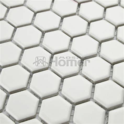 black ceramic tile 12x12 aliexpress com buy 12x12 quot hexagon matt white ceramic mosaic tiles kitchen wall mosaic tiles