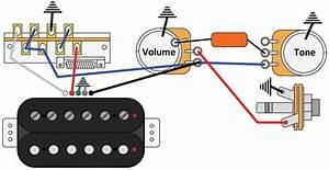 Bass Guitar Single Pickup Wiring Diagram