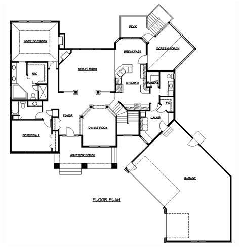 home design blueprints rambler floor plans plan 200318 tjb homes