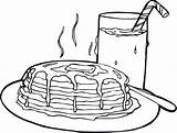 Coloring Pages Pancake Pancakes Drawing Realistic Fall Printable Shopkin Autumn Getcolorings Getdrawings Rocks Children sketch template