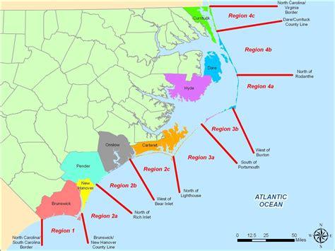 map  north carolina shoreline  travel information