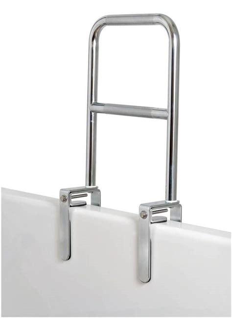 tub bars safety dual level bathtub safety rail grab bar tub chrome b203
