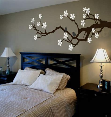schlafzimmer wand dekorieren schlafzimmer deko ideen wand