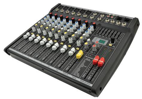 mixer console citronic csl 10 live mixer mixing console 10 input