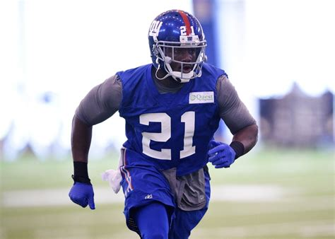 New York Giants Landon Collins #21 Red Elite Jersey