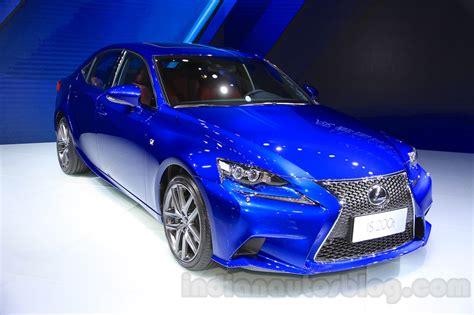 lexus blue 2016 lexus is 200t 2015 chengdu motor show
