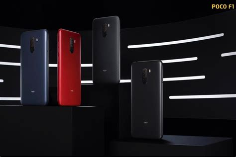 xiaomi backed poco f1 goes officially official with top