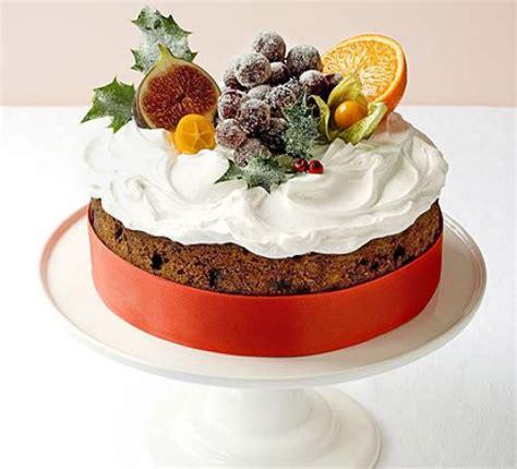 classic winter fruitcake recipe bbc good food