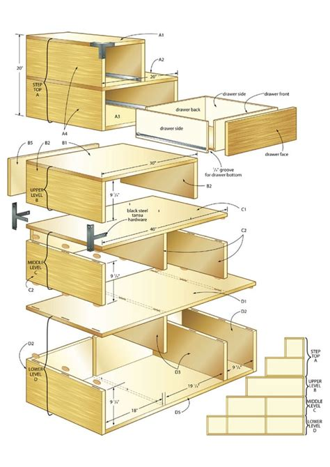 build  tansu chest making  house  home pinterest