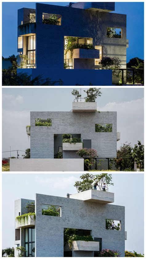 Binh house Modern residential architecture styles of