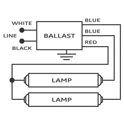 Output Florescent Ballast Electrical Diy Chatroom