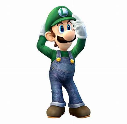 Luigi Smash Bros Mario Brawl Ssbb Wii