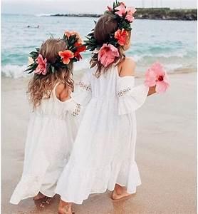 flower girl dresses that will turn them into little ladies With beach wedding flower girl dresses