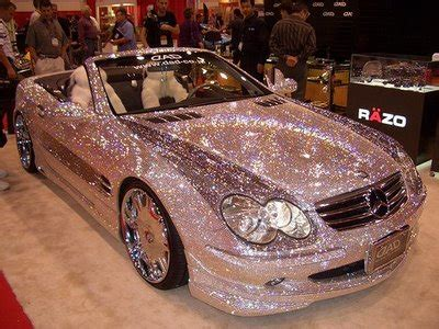 gold glitter car the 3 bling rule dressed to a t