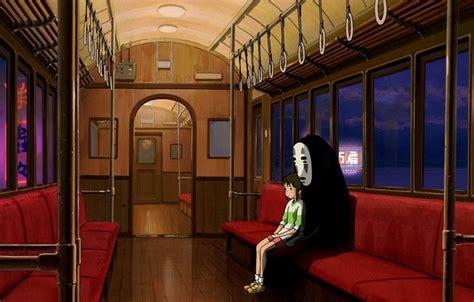 anime film chihiro wallpaper studio ghibli chihiro anime interior train