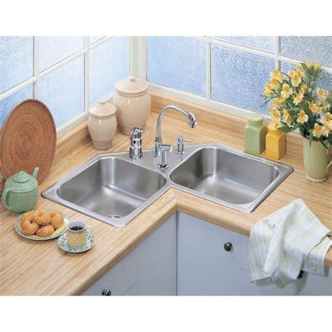 elkay corner kitchen sink elkay neptune corner sink update your home with designer 7046