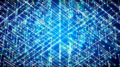 Cyber Background Free Footage Futuristic Abstract Cyber Background