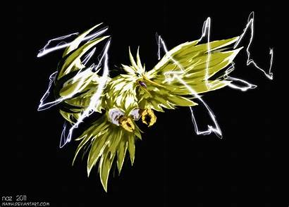 Pokemon Zapdos Legendary Birds Deviantart Artwork Wallpapers