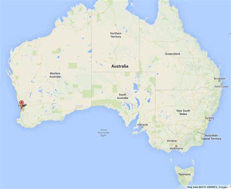 perth  map  australia