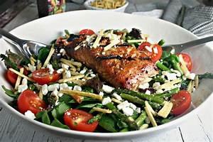 Grilled Salmon Salad - Life, Love, and Good Food
