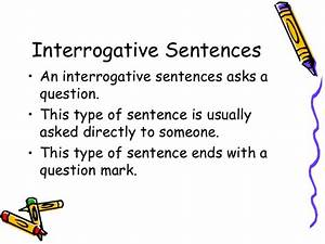 What Is Interrogative Sentence