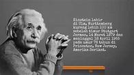 Biografi singkat Albert Einstein - YouTube