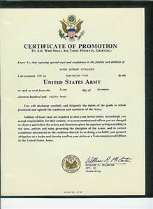 certificate of promotion us army flickr photo sharing With army promotion certificate template