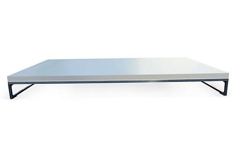 low height coffee table b b italia antonio citterio solo low profile coffee table