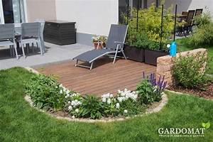 Kleiner Garten Ideen : kleiner garten mit holzdeck an terrasse gardomat ~ Eleganceandgraceweddings.com Haus und Dekorationen