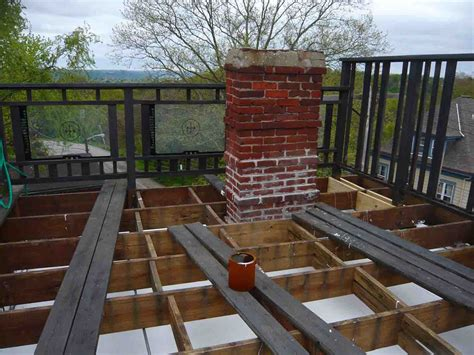 how to build a rooftop deck with a view some