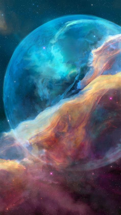 wallpaper bubble nebula hd space  popular