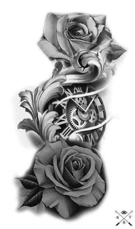 49+ AMAZING CLOCK TATTOOS IDEAS | Clock tattoo, Tattoo