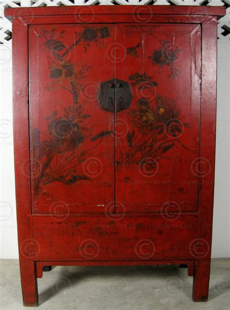 The China Cupboard by Cupboard Bj41 Lacquered Elmwood Shanxi China