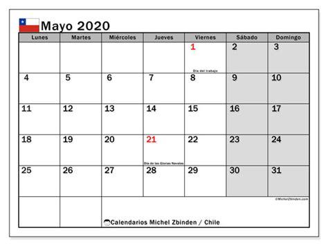 calendario mayo chile michel zbinden es
