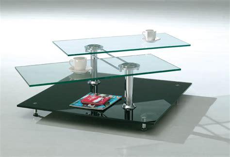 Glass Center Table Design Photograph   And Futurist Coff