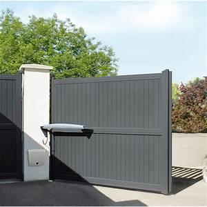 Portail Coulissant Bricoman : portail alu bricoman avec portail fer bricoman portail ~ Dallasstarsshop.com Idées de Décoration
