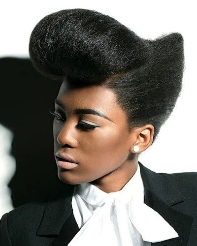5 interesting natural wedding hairstyles for black