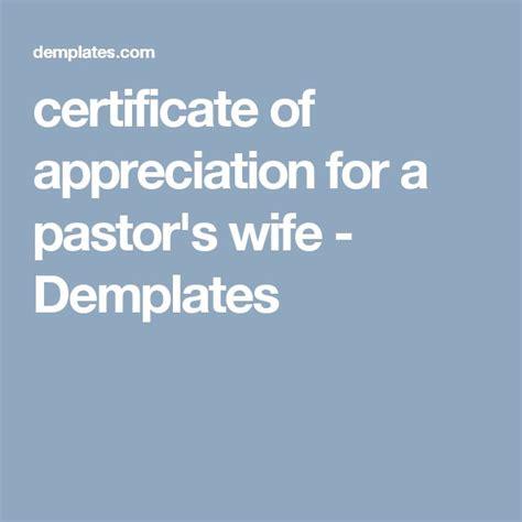 21 Best Pastor Appreciation Certificate Templates Images 21 Best Pastor Appreciation Certificate Templates Images