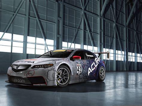 official 2015 acura tlx gt race car gtspirit