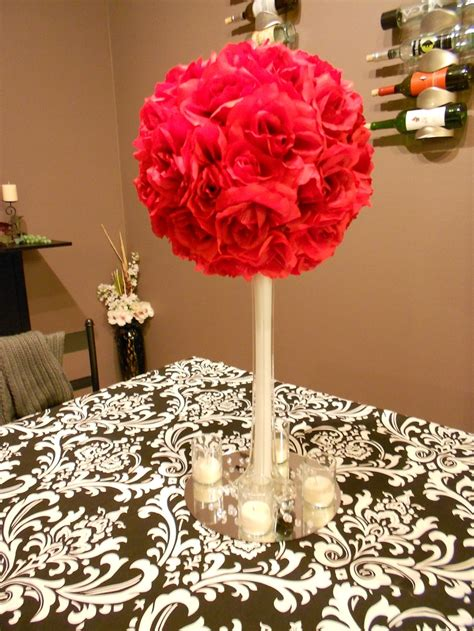 best 25 red rose centerpieces ideas on pinterest red