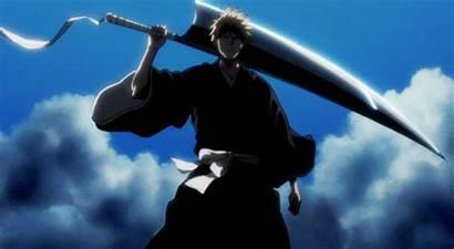 Anime Bleach Ichigo Kurosaki Giphy Forms Gifs