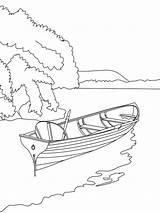 Coloring River Colorear Dibujo Dibujos Bateau Coloriage Barco Facil Puerto Imprimer Ligne Boat Hellokids Imprimir Gabarra Mycoloring Ausmalbilder Fluss Barque sketch template