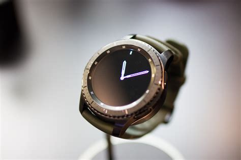 samsung gear  classic frontier smartwatches