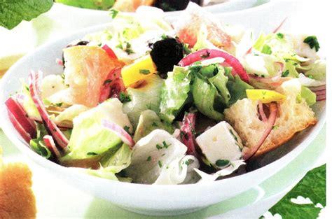 cuisine paysanne salade paysanne aux croûtons de recettes galerie