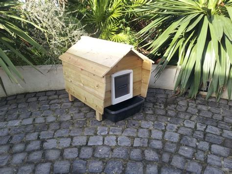 Outdoor Cat House Outdoor Cat Litter House