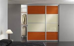 Aux Portes De La Deco : osez la couleur avec les portes de placard de votre ~ Nature-et-papiers.com Idées de Décoration