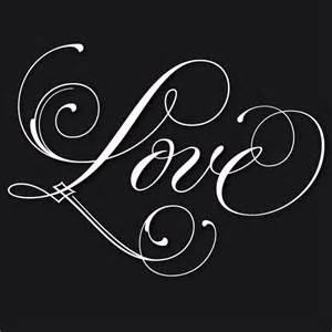 12 love in script font images i love you in calligraphy