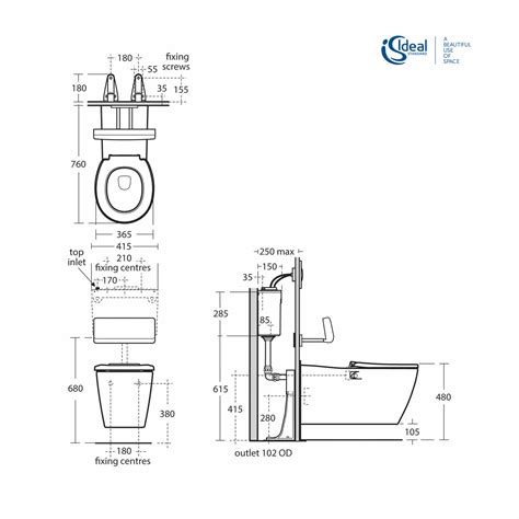 Standard Height Of Water Closet by Ideal Standard Concept Freedom Wall Hung Extended Rimless