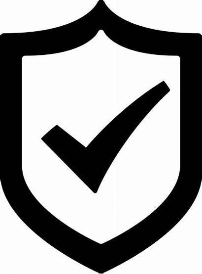 Icon Shield Protection Check Mark Svg Onlinewebfonts